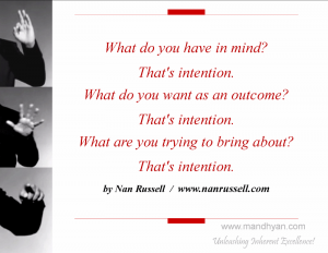 Intention & Action in Sales