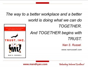 Trust Inc by Nan Russel