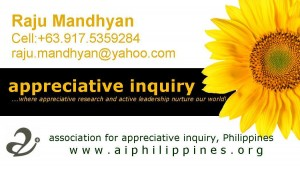 Appreciative Inquiry, an Acquaintance